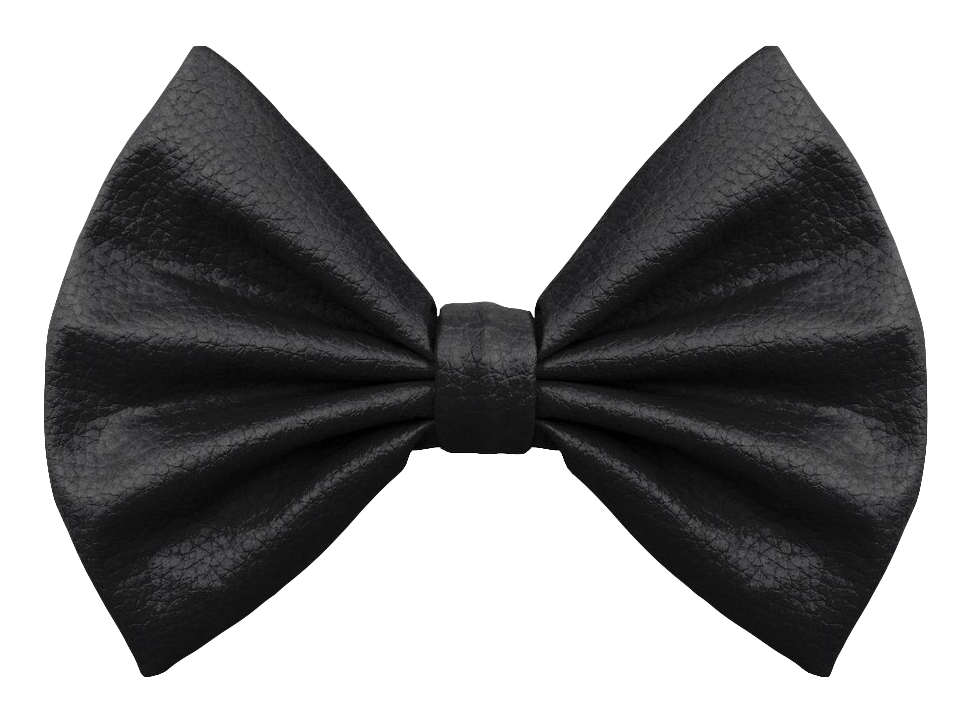 Bow Tie Black PNG Image