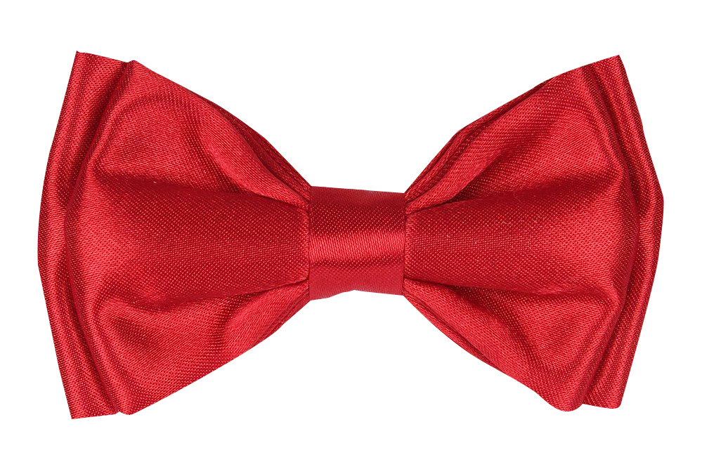 Bow Tie Red PNG Image