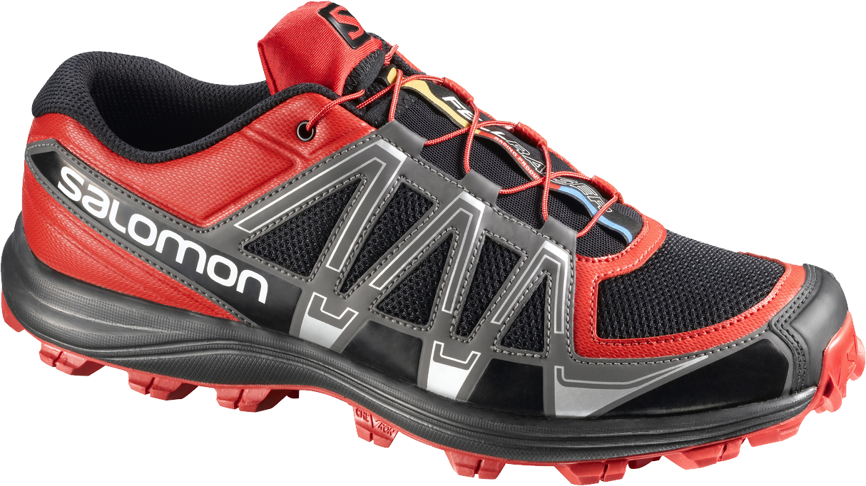 Bright red  Men Shoes PNG Image