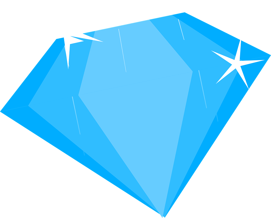 Brilliant Blue Diamond