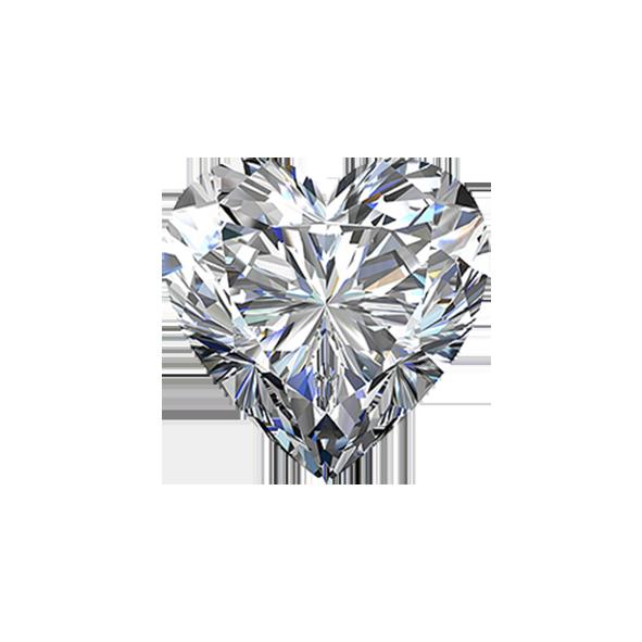 Brilliant Diamond Love Shaped