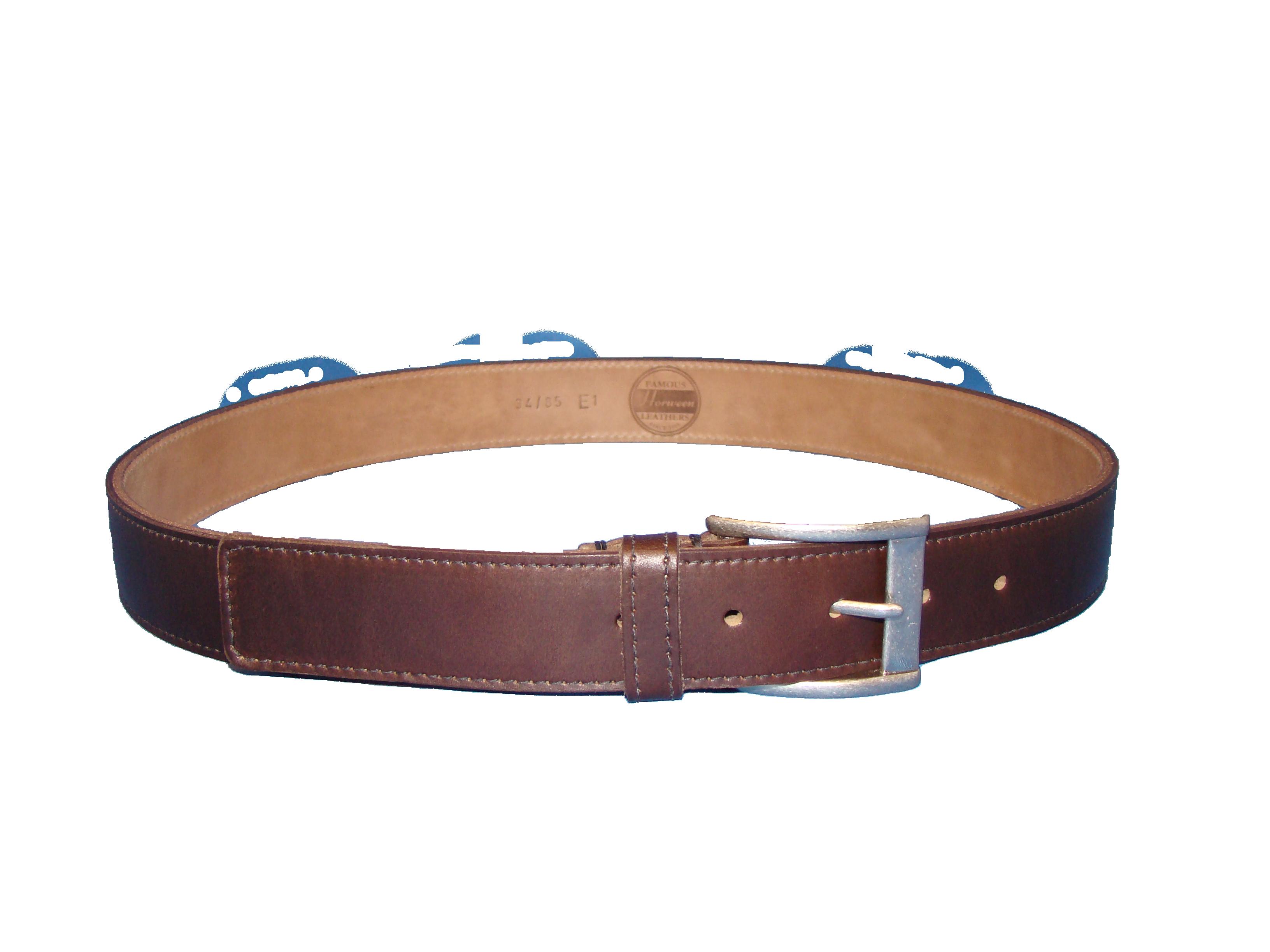 Brown Chrome Excel Belt PNG Image