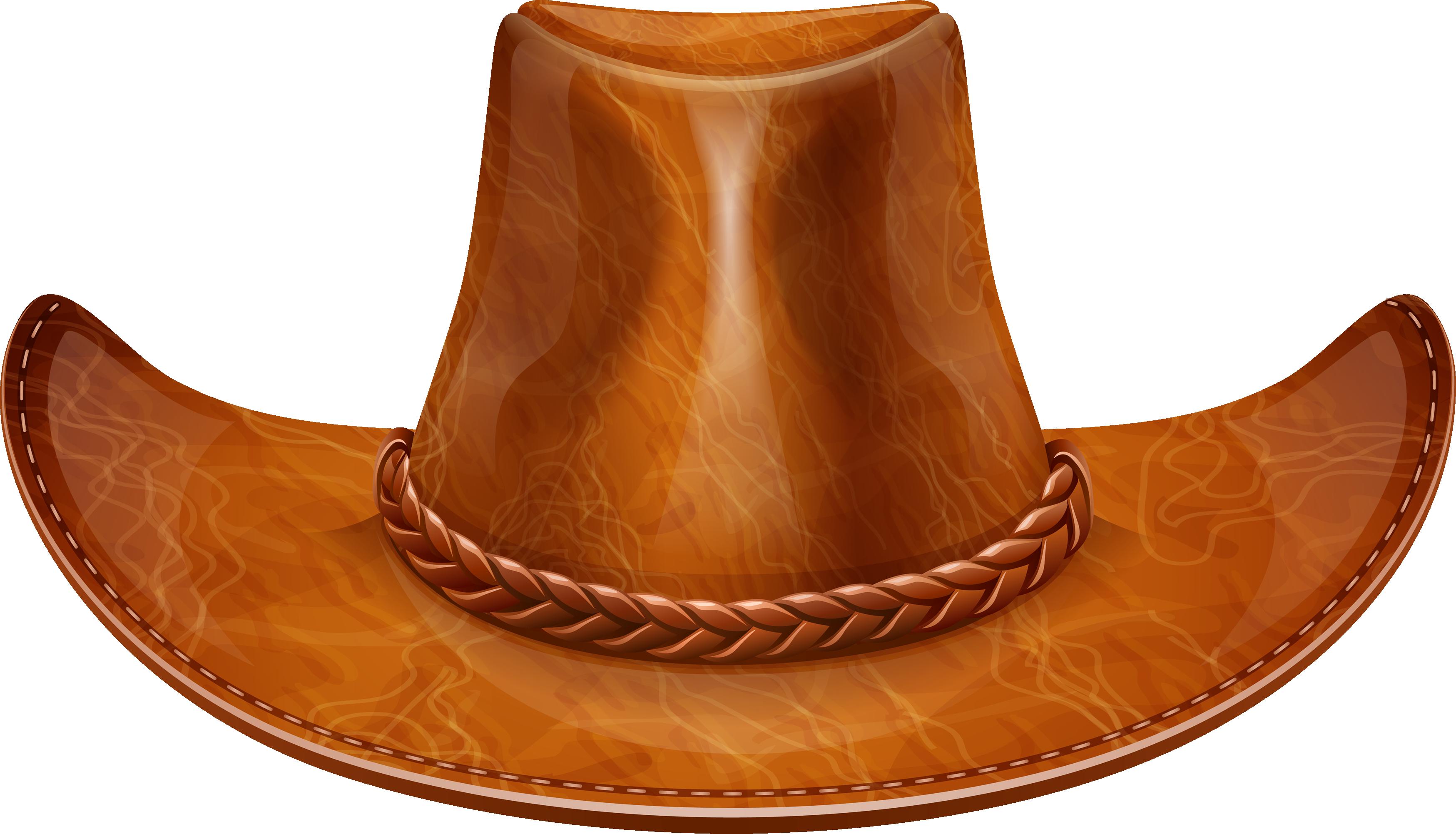 Brown Cow Boy Hat PNG Image - PurePNG   Free transparent ...