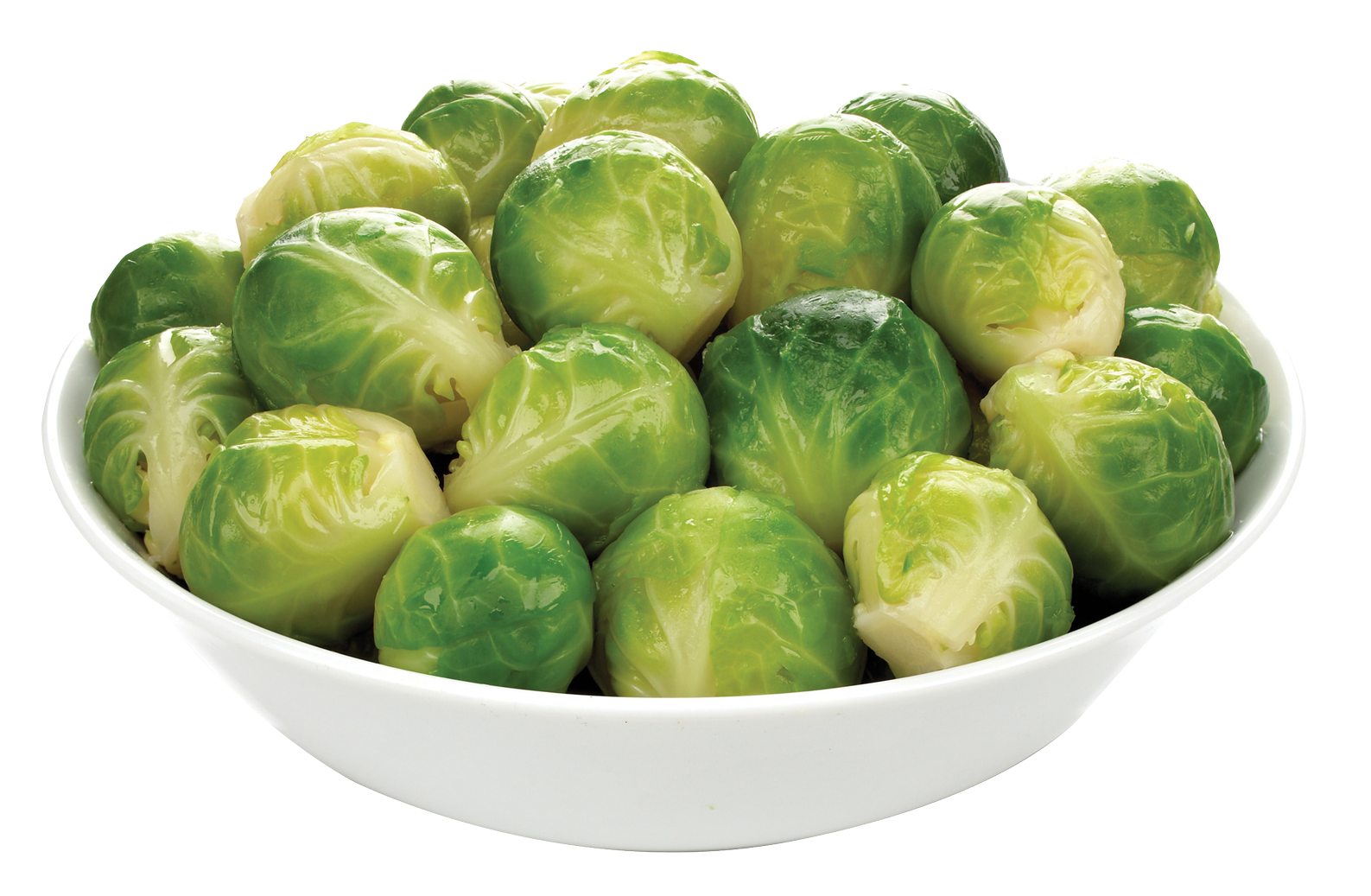 Brussel Sprouts in Bowl