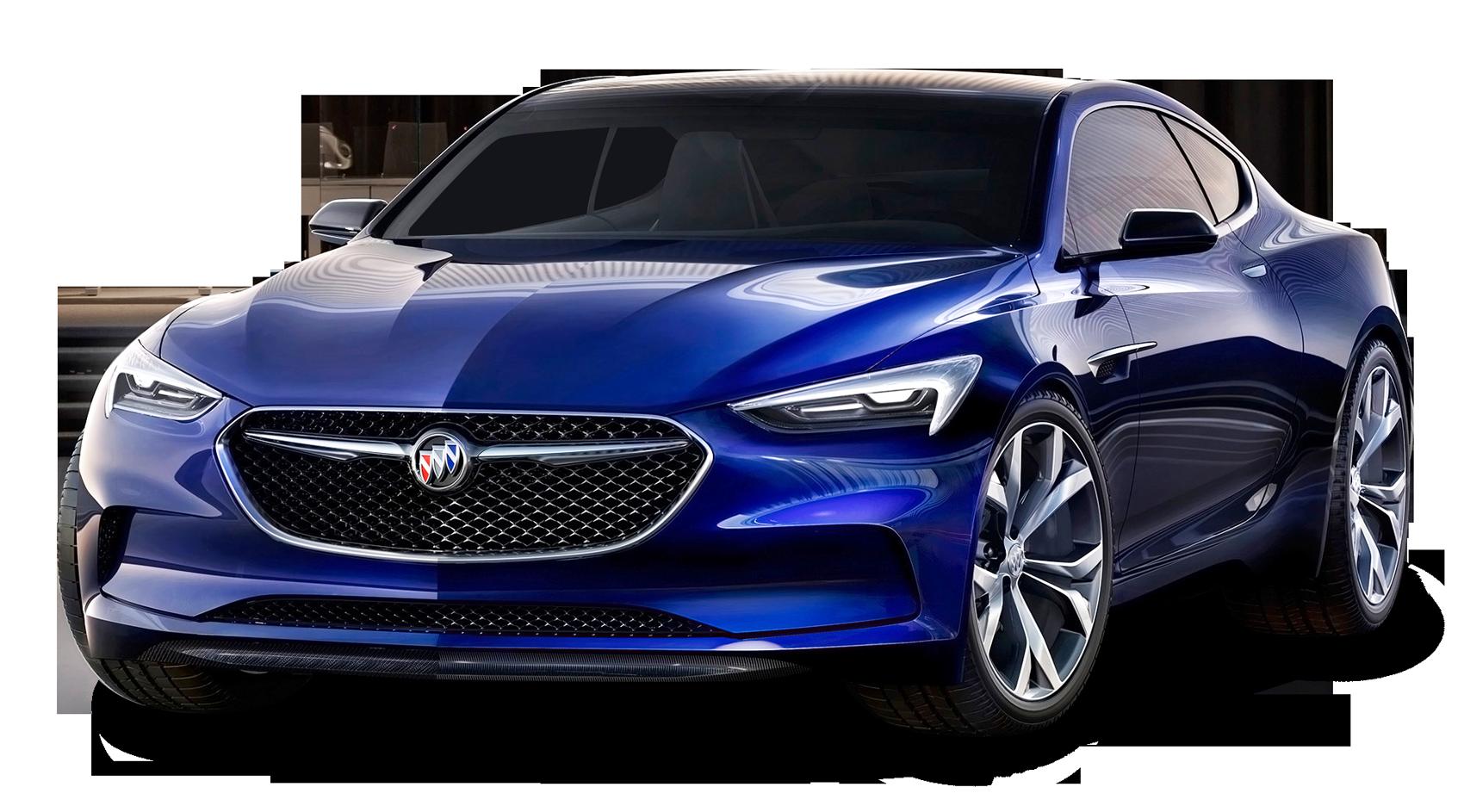 Buick Avista Blue Car
