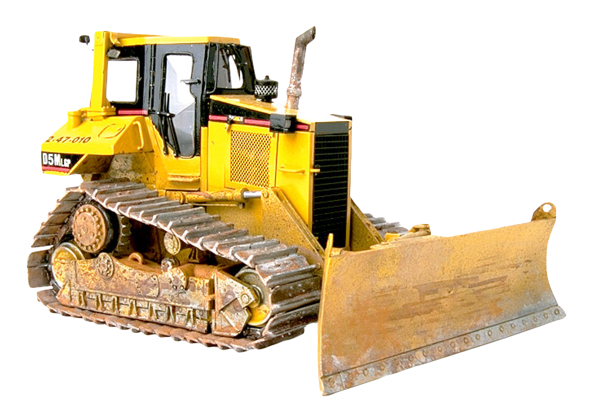 Bulldozer Tractor PNG Image