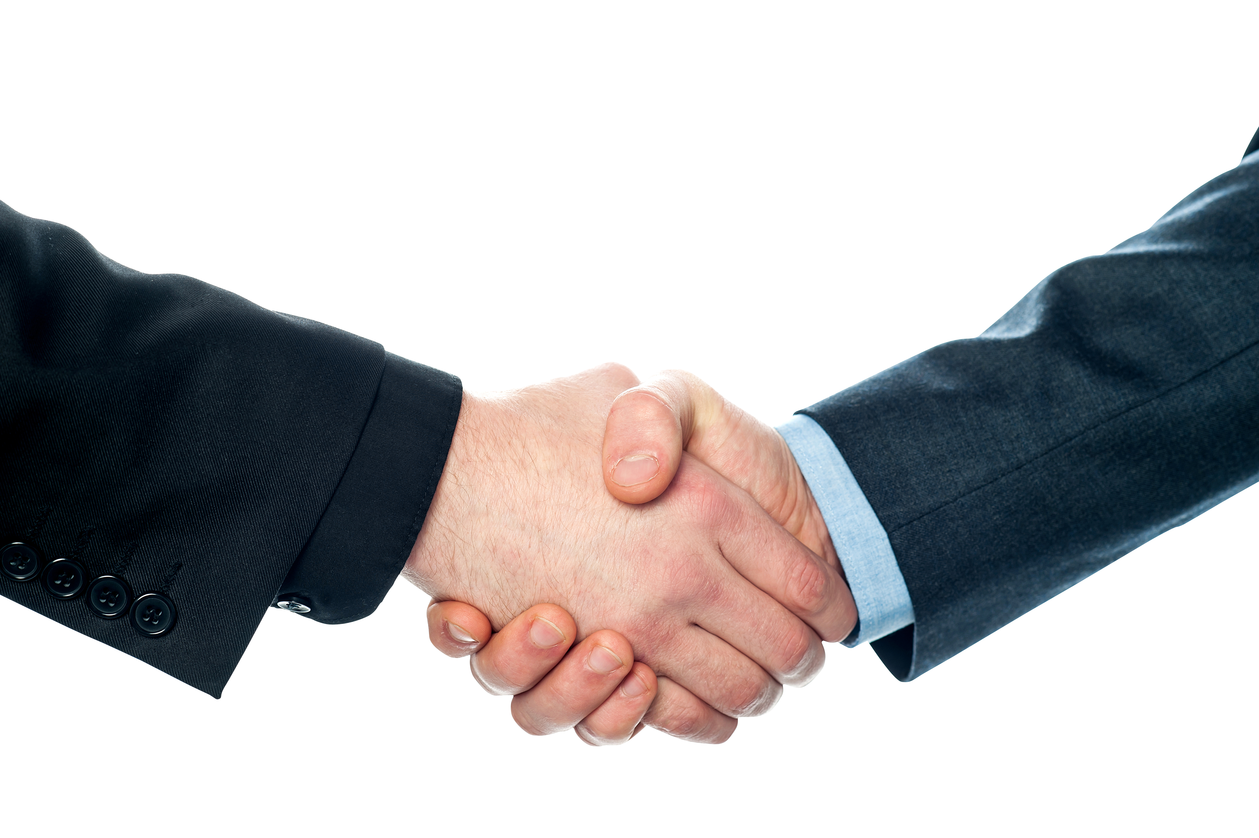 Business Handshake PNG Image