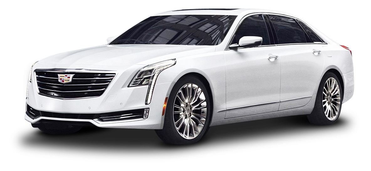 Cadillac CT6 White PNG Image