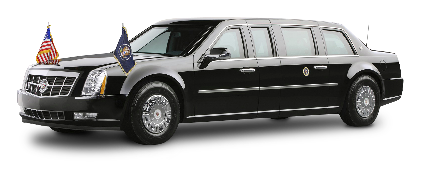 Cadillac Presidential Limousine PNG Image