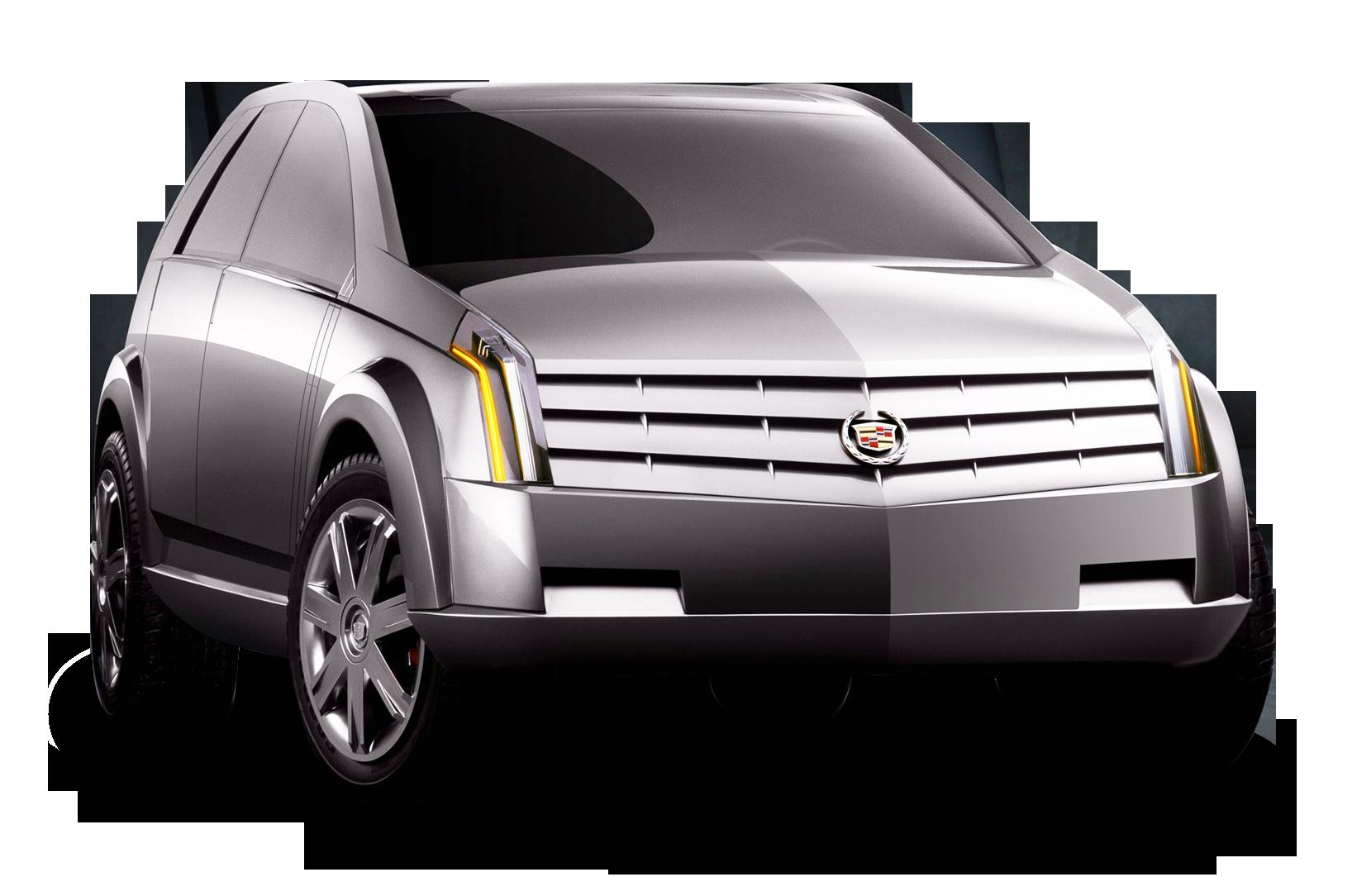 Cadillac Vizon Grey Car PNG Image