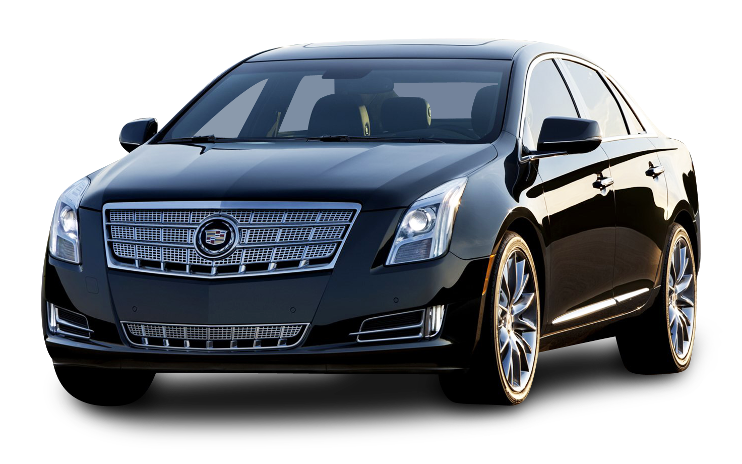 Cadillac XTS Black Car