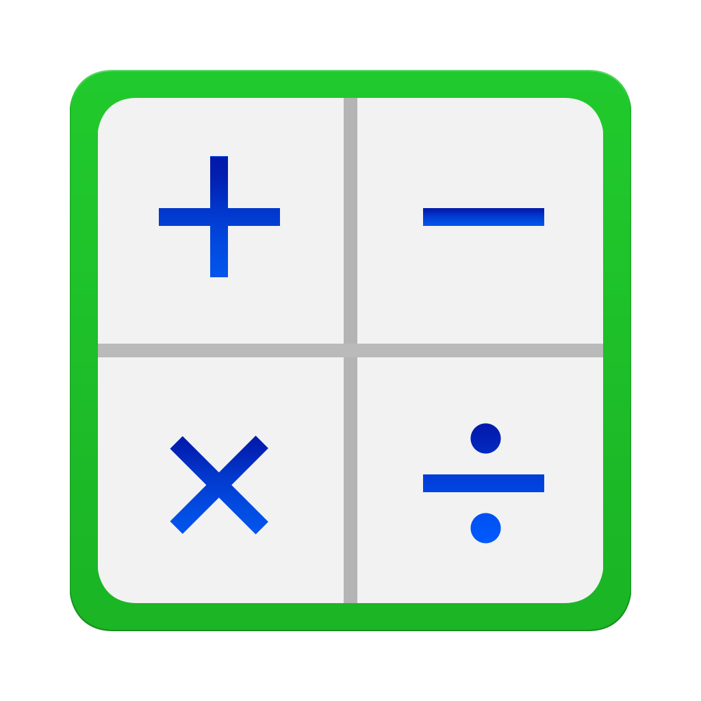 Calculator Icon Galaxy S6