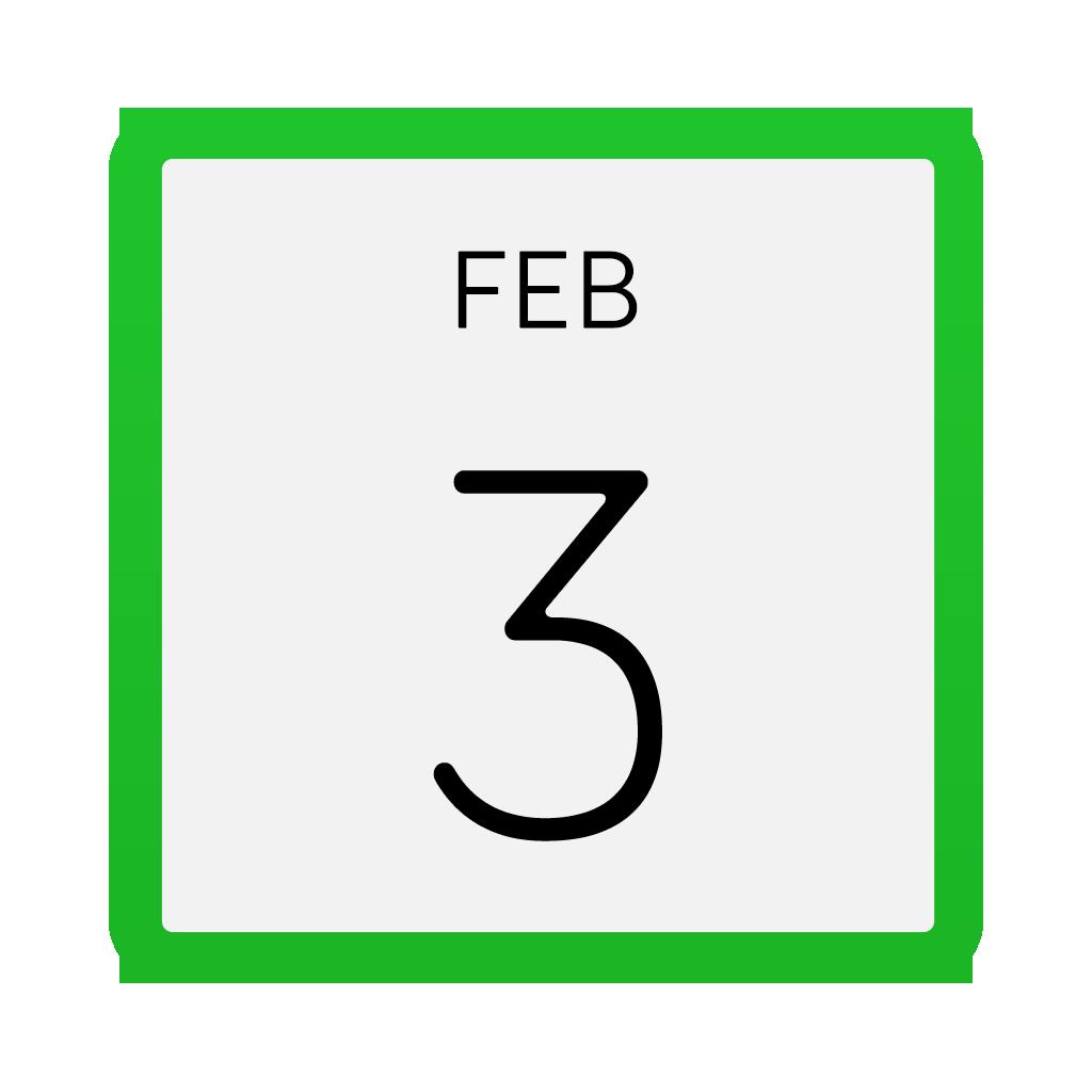 Calendar Icon Galaxy S6