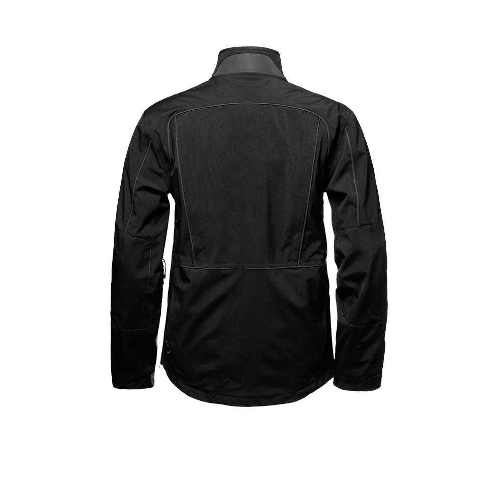 Canyon Motorcycle  Jacket jet black PNG Image