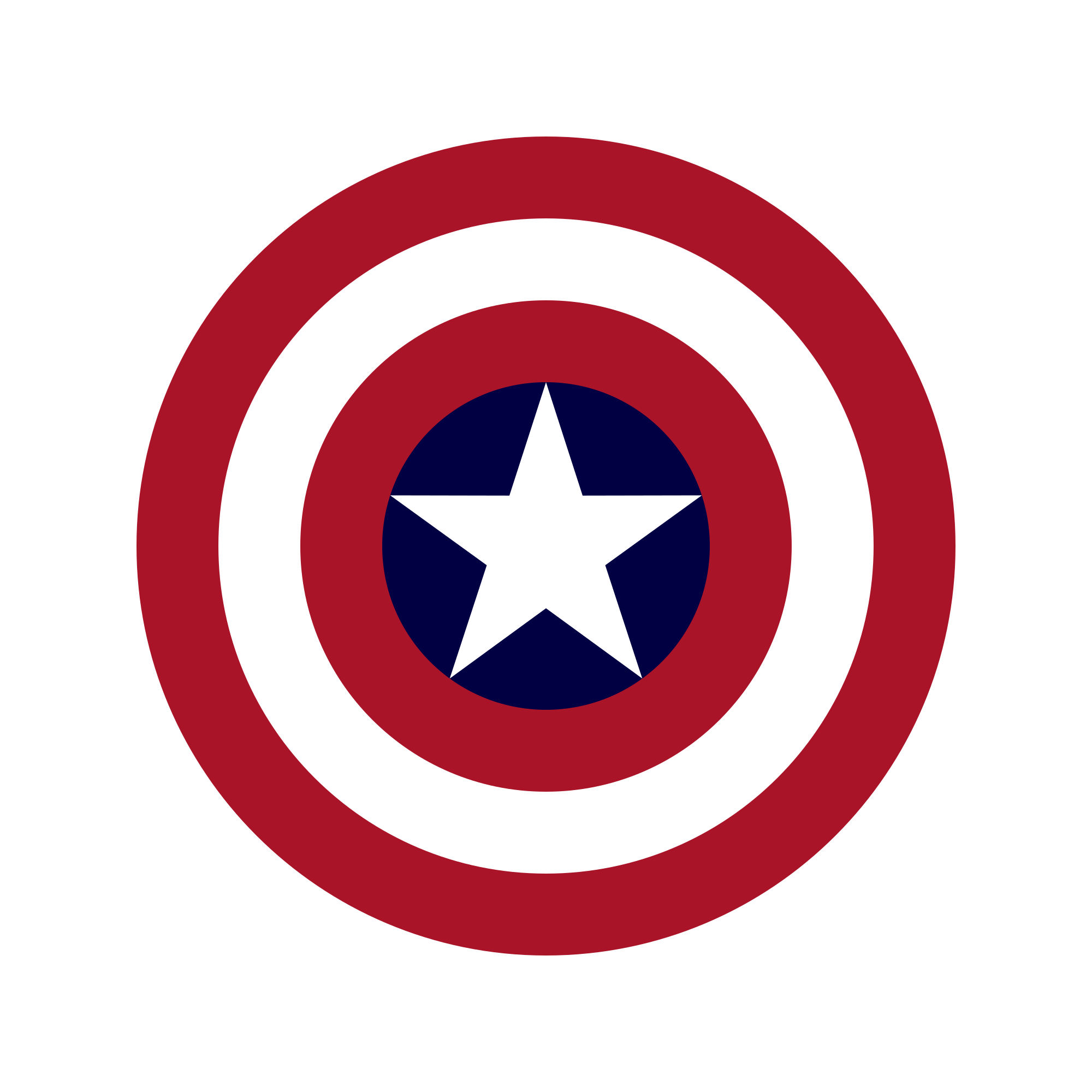 It is a graphic of Divine Captain America Shield Printable