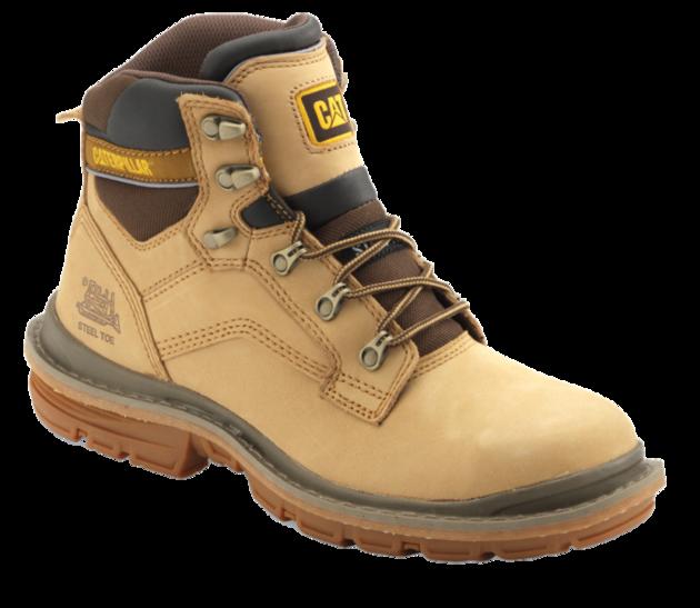 Cat Steel Toe Boot