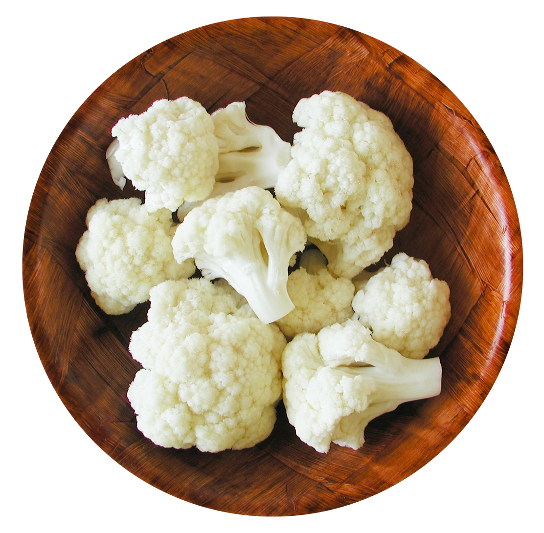 Cauliflower in Bowl PNG Image