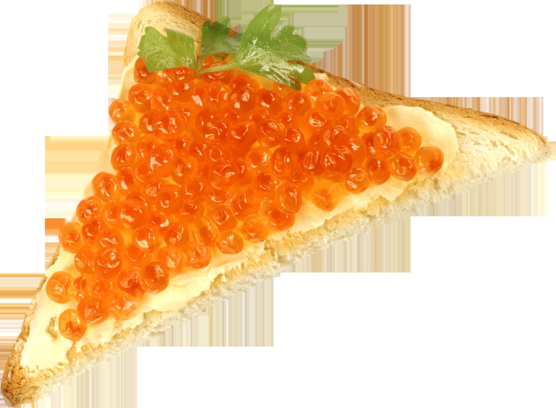Caviar Bread PNG Image