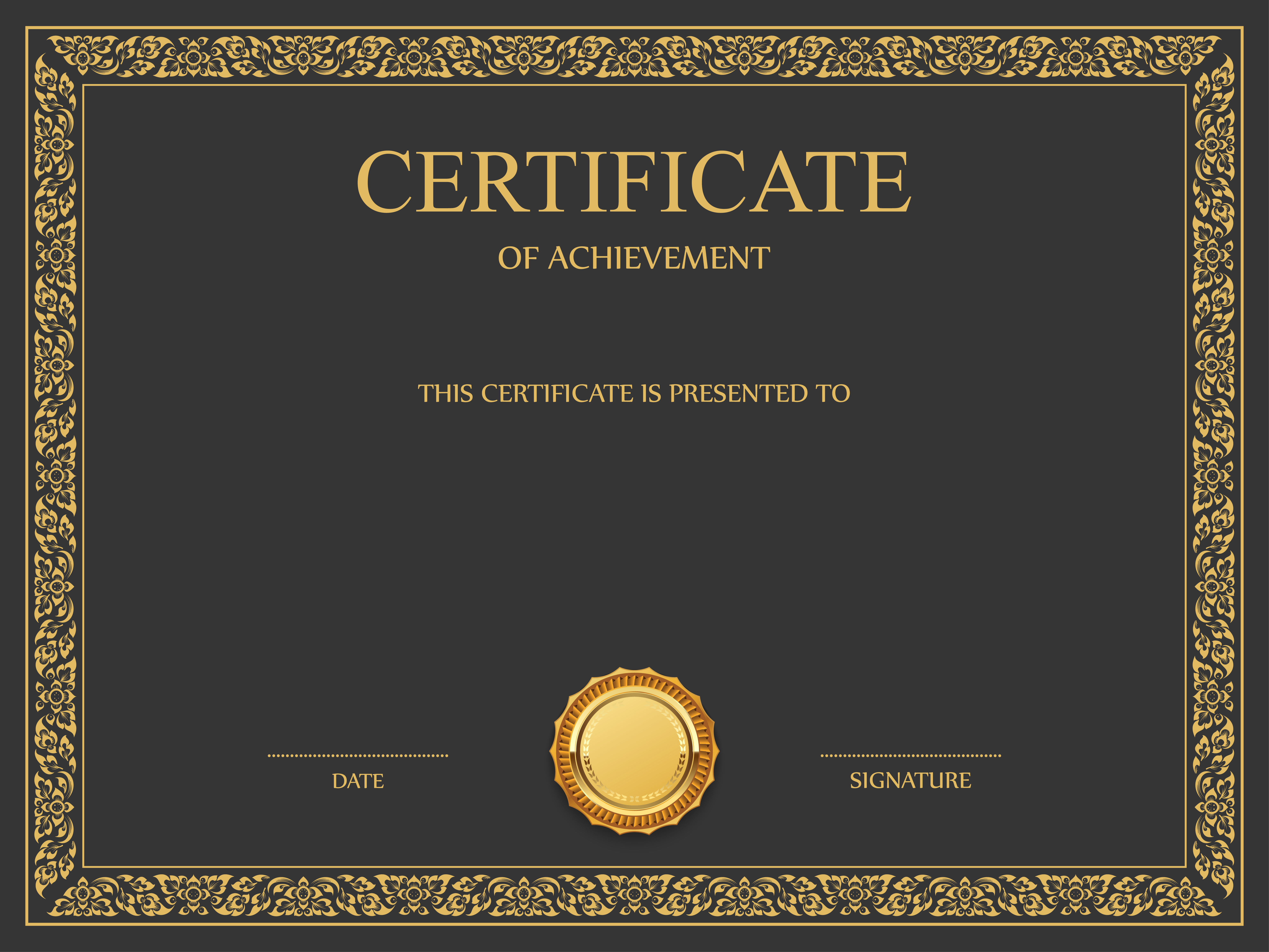 Certificate Template Png Image Purepng Free
