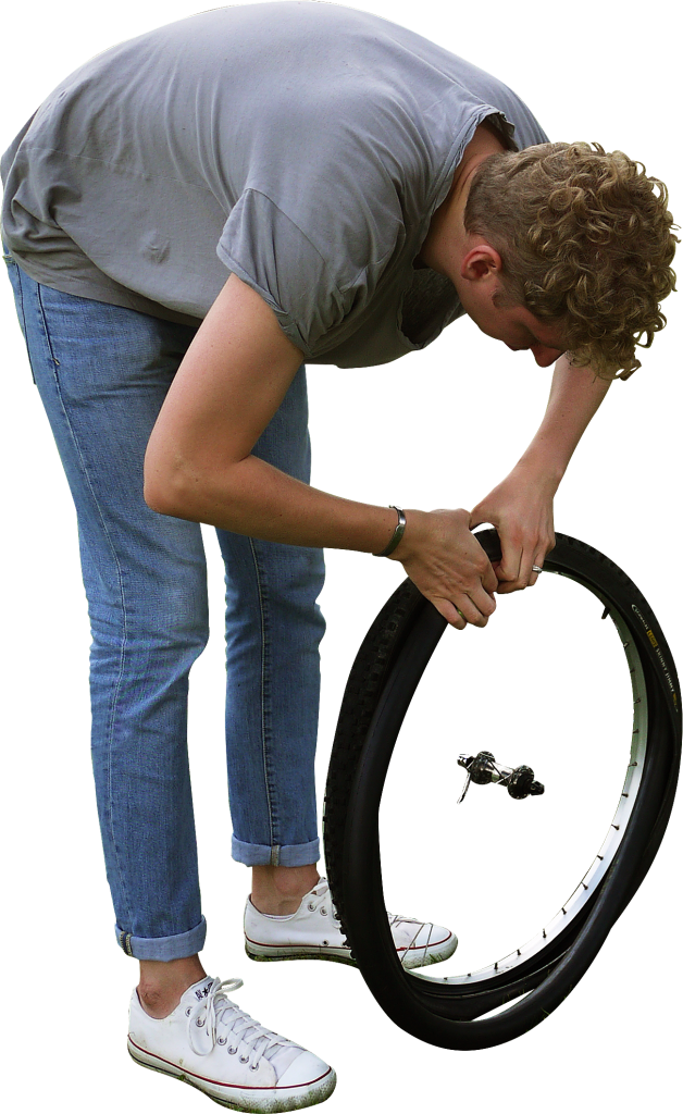 Changing Tyre PNG Image