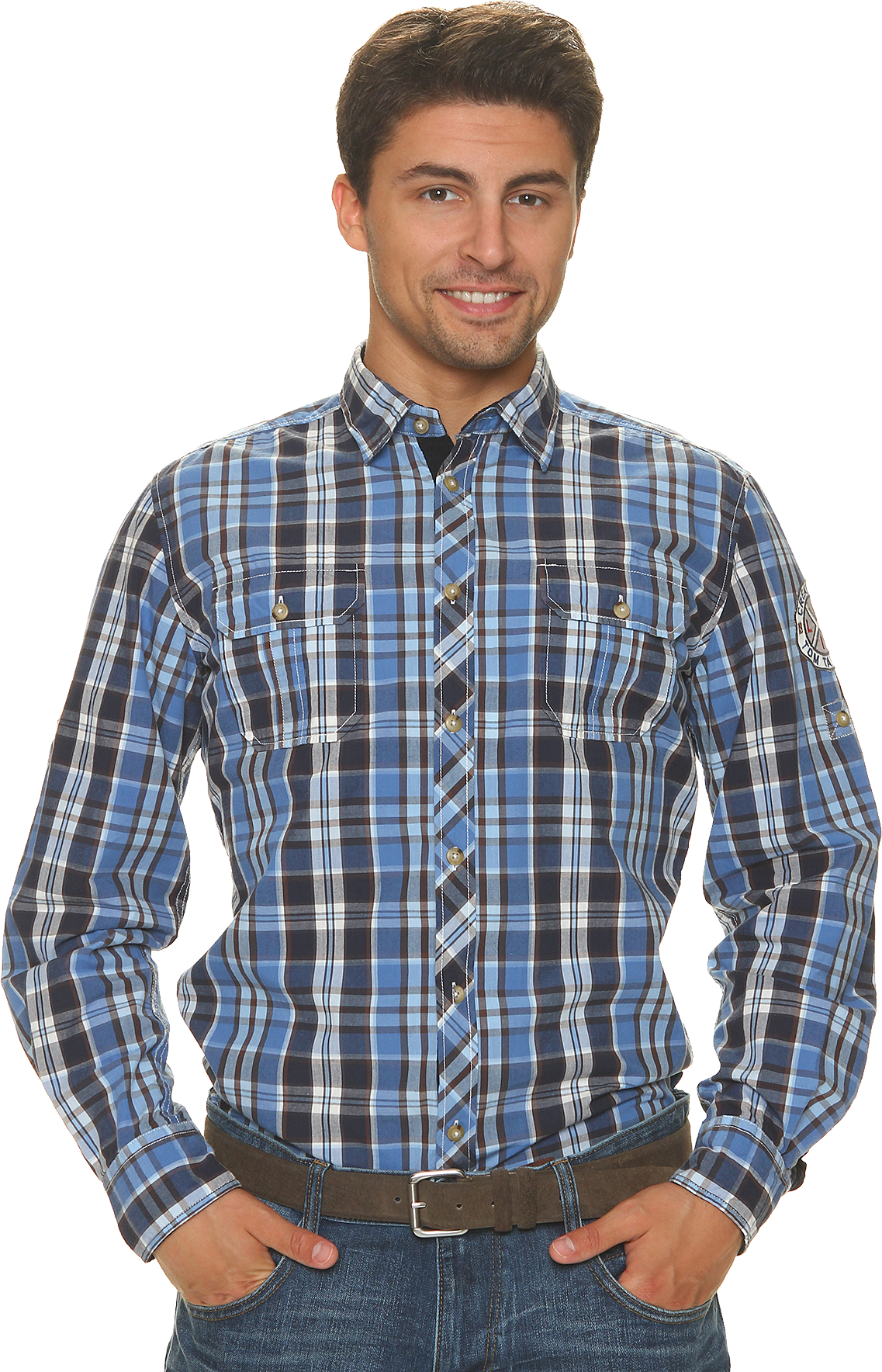 Check Full Dress Shirt