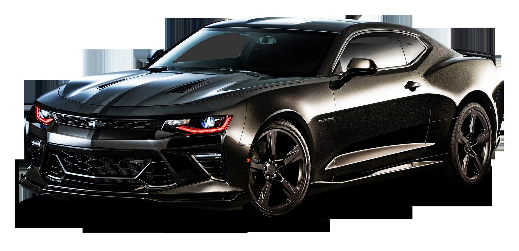 Chevrolet Camaro Black Car Png Image Purepng Free