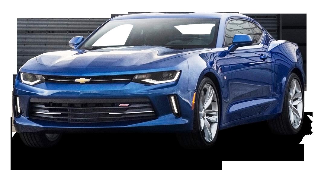 Chevrolet Camaro RS Blue Car