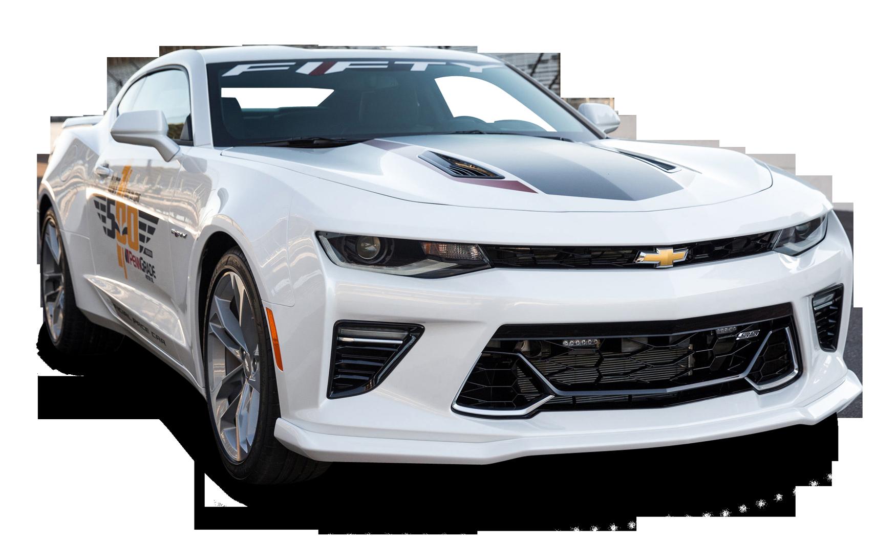 Chevrolet Camaro White Car