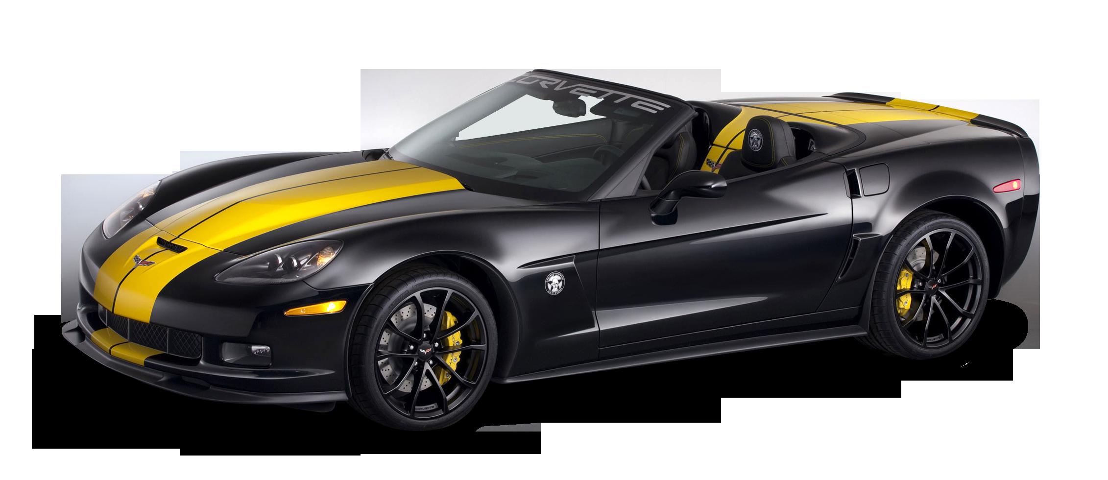 Chevrolet Corvette 427 Convertible Car PNG Image