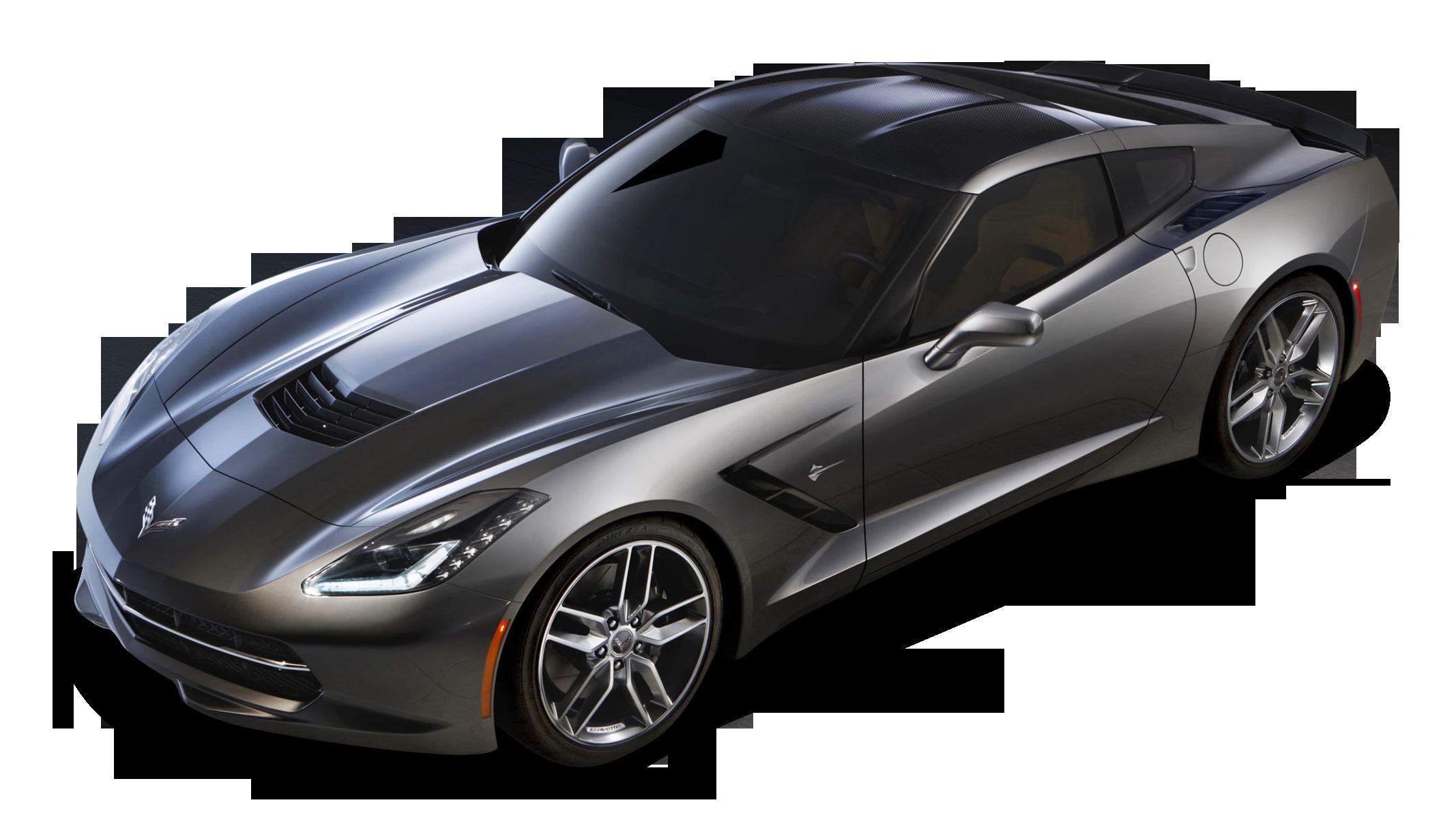Chevrolet Corvette C7 Stingray Top View Car PNG Image