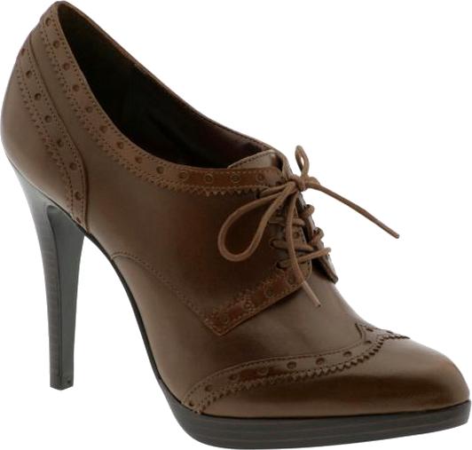 Chocolate Women Shoe PNG Image