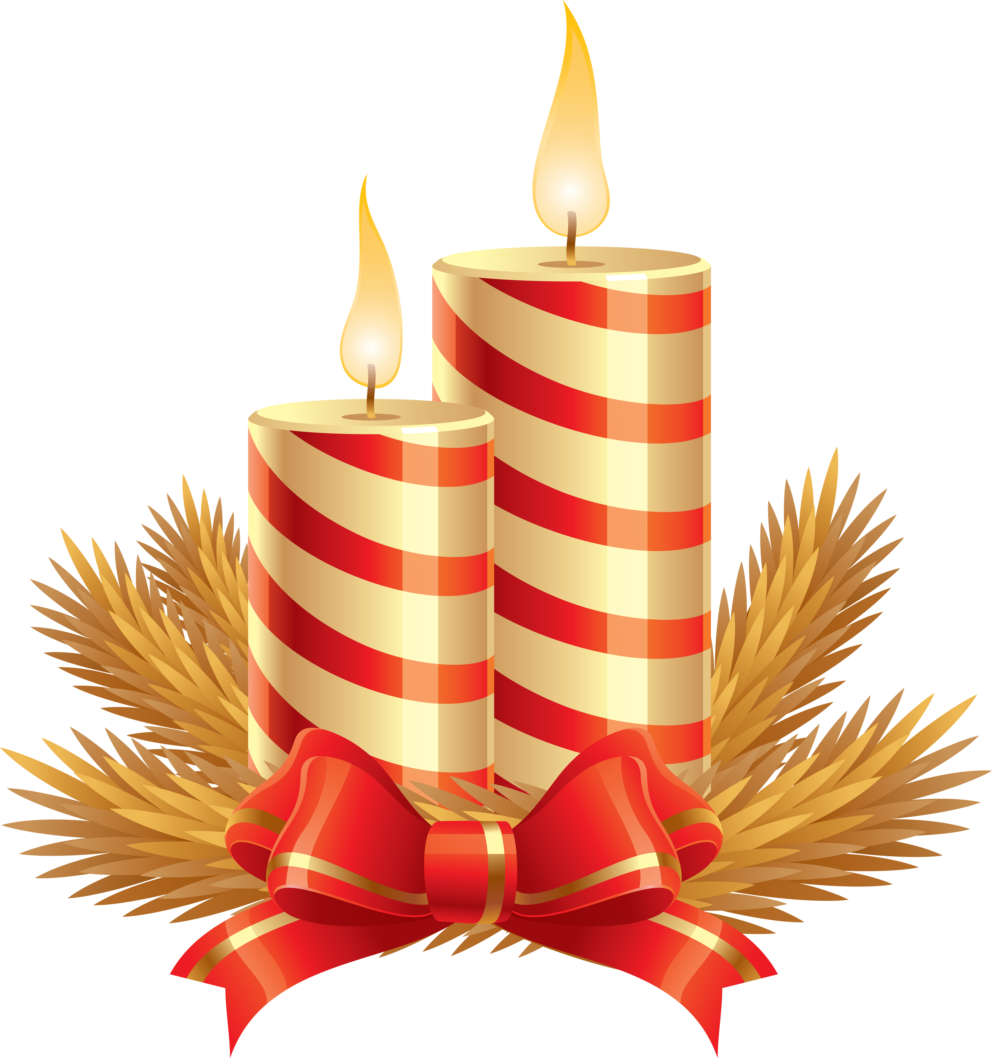 Christmas Graphics Png.Christmas Candle S Png Image Purepng Free Transparent