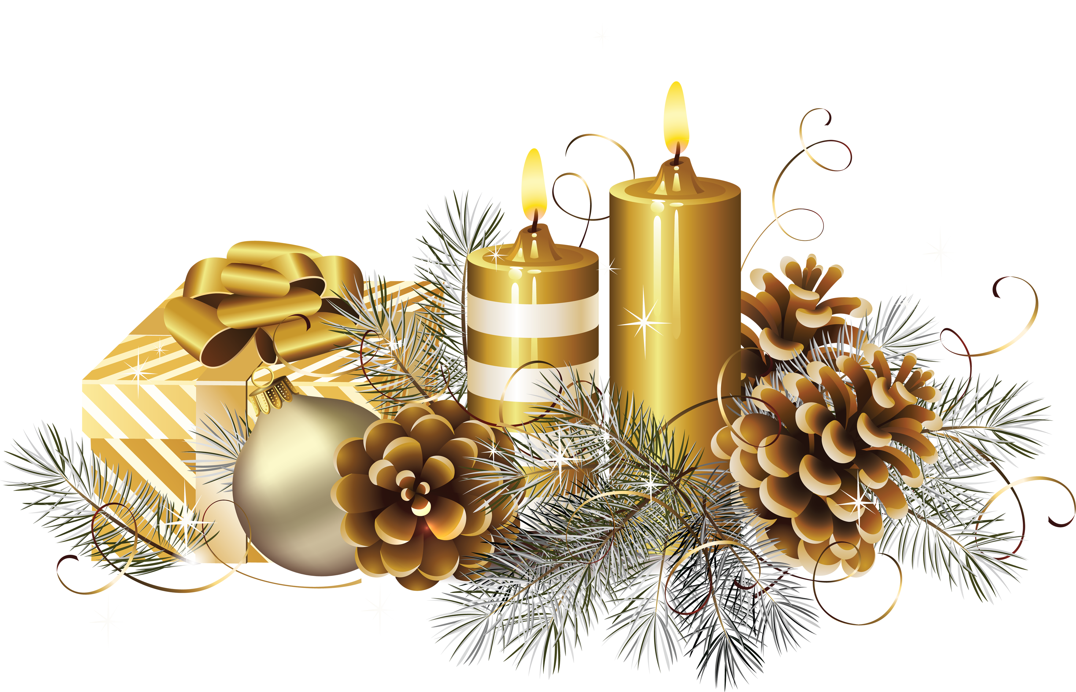 Christmas Candle S Png Image Purepng Free Transparent