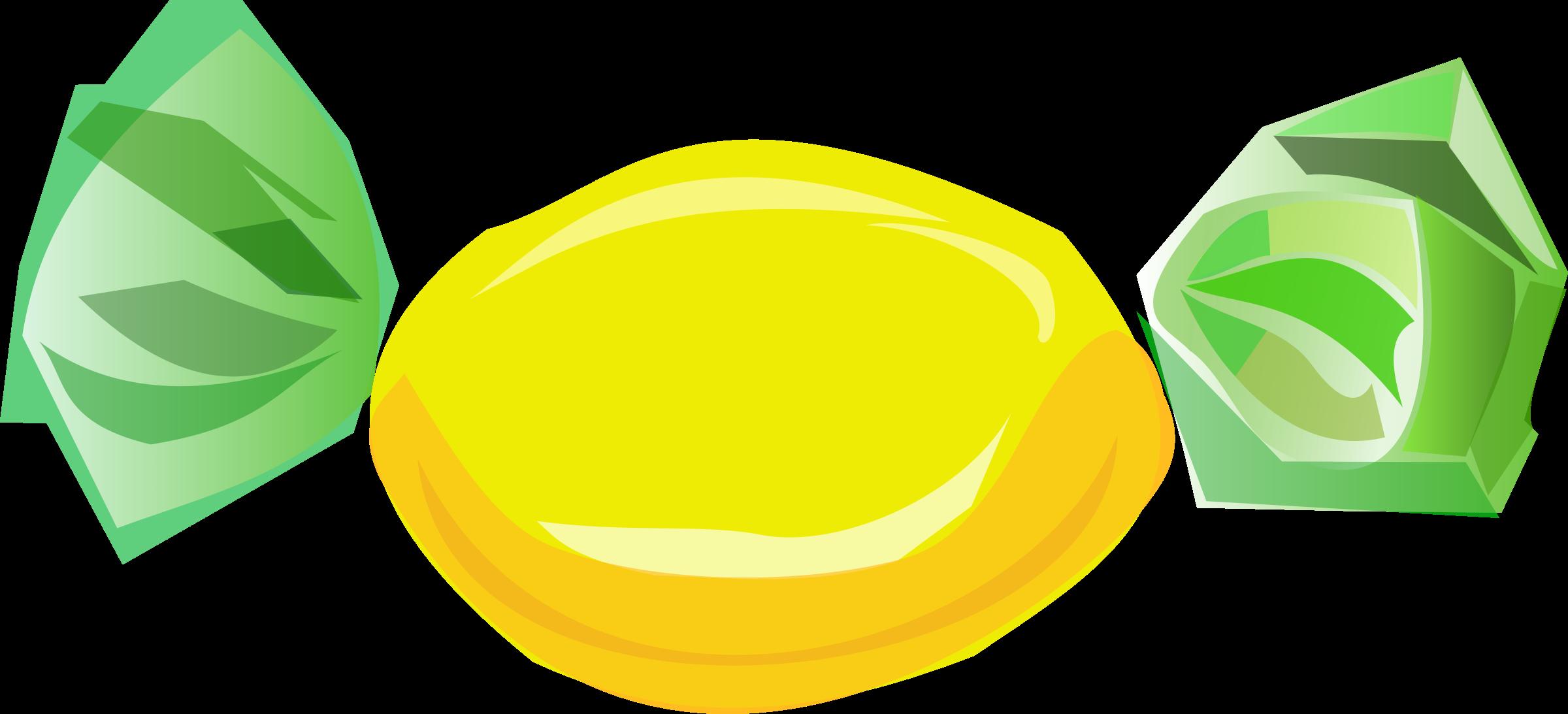 Yellow Sweet PNG Image