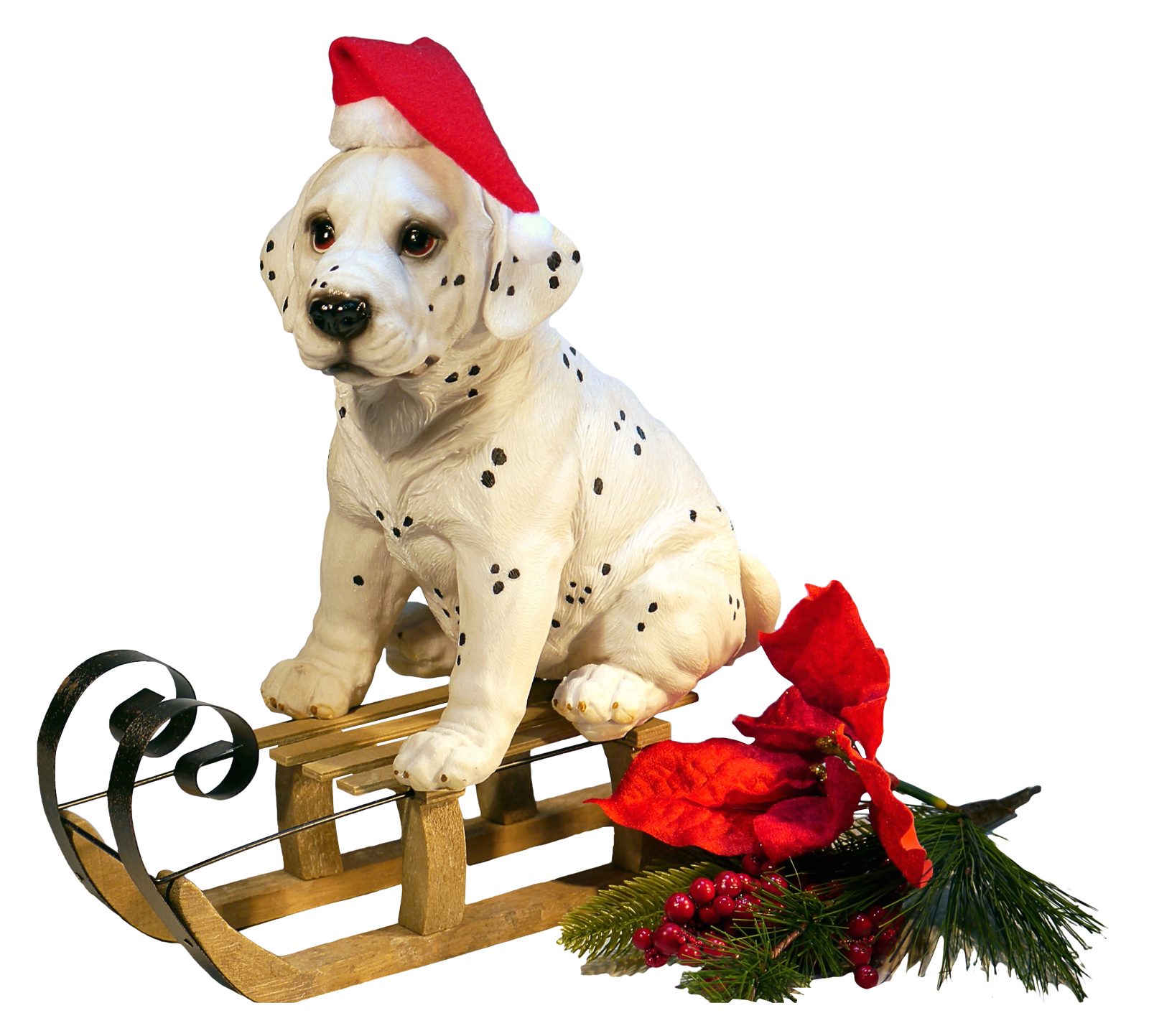 Christmas Dog PNG Image