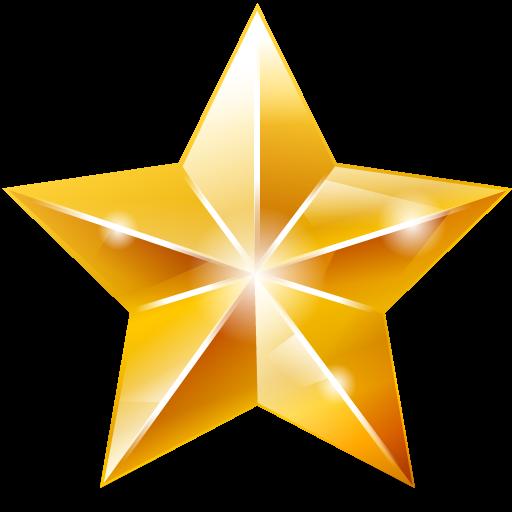 Christmas Star Festive PNG Image