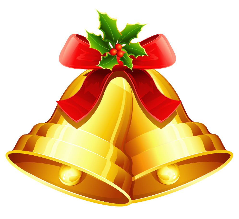 Christmas Bell Golden Png Image Purepng Free Transparent