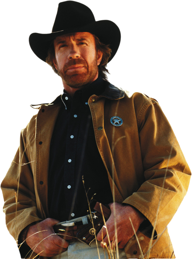Chuck Norris PNG Image