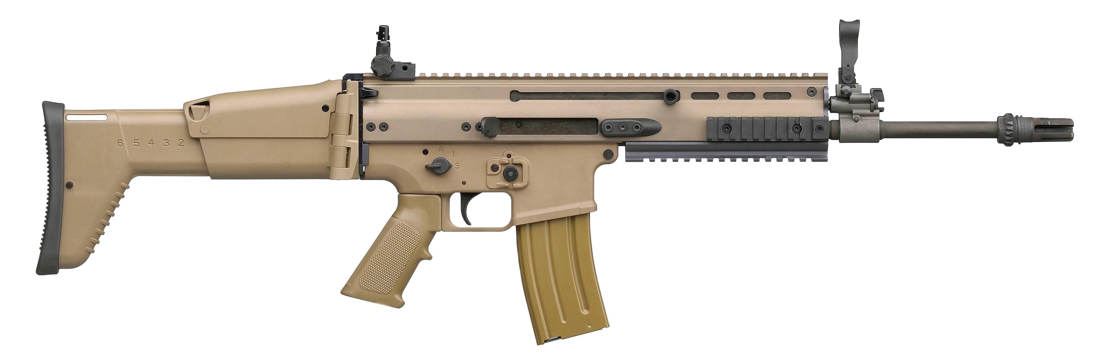 Classic Dust Assault Rifle PNG Image