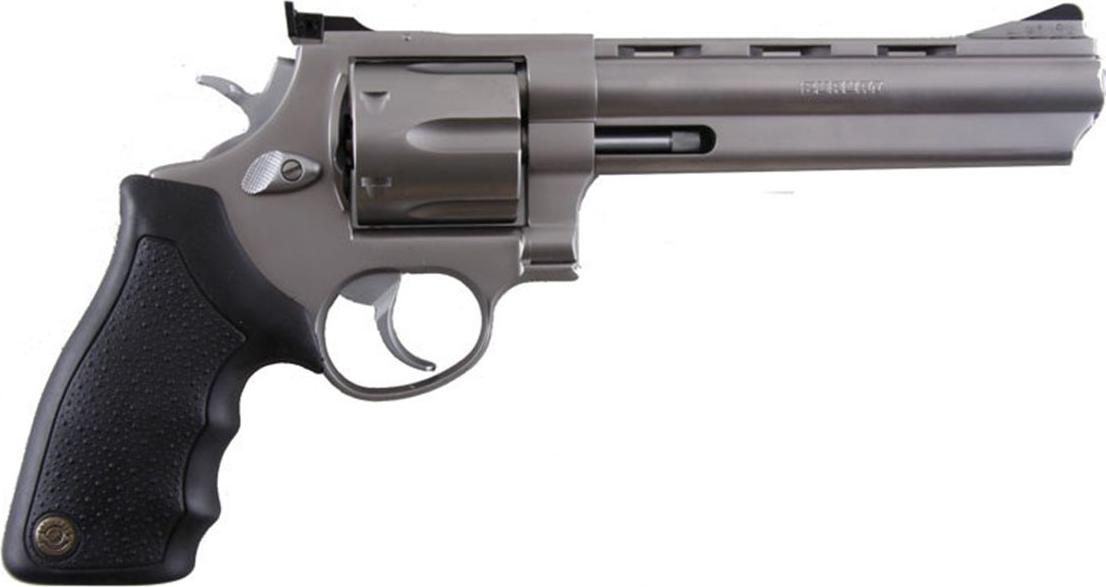 Classic Metal Handgun PNG Image
