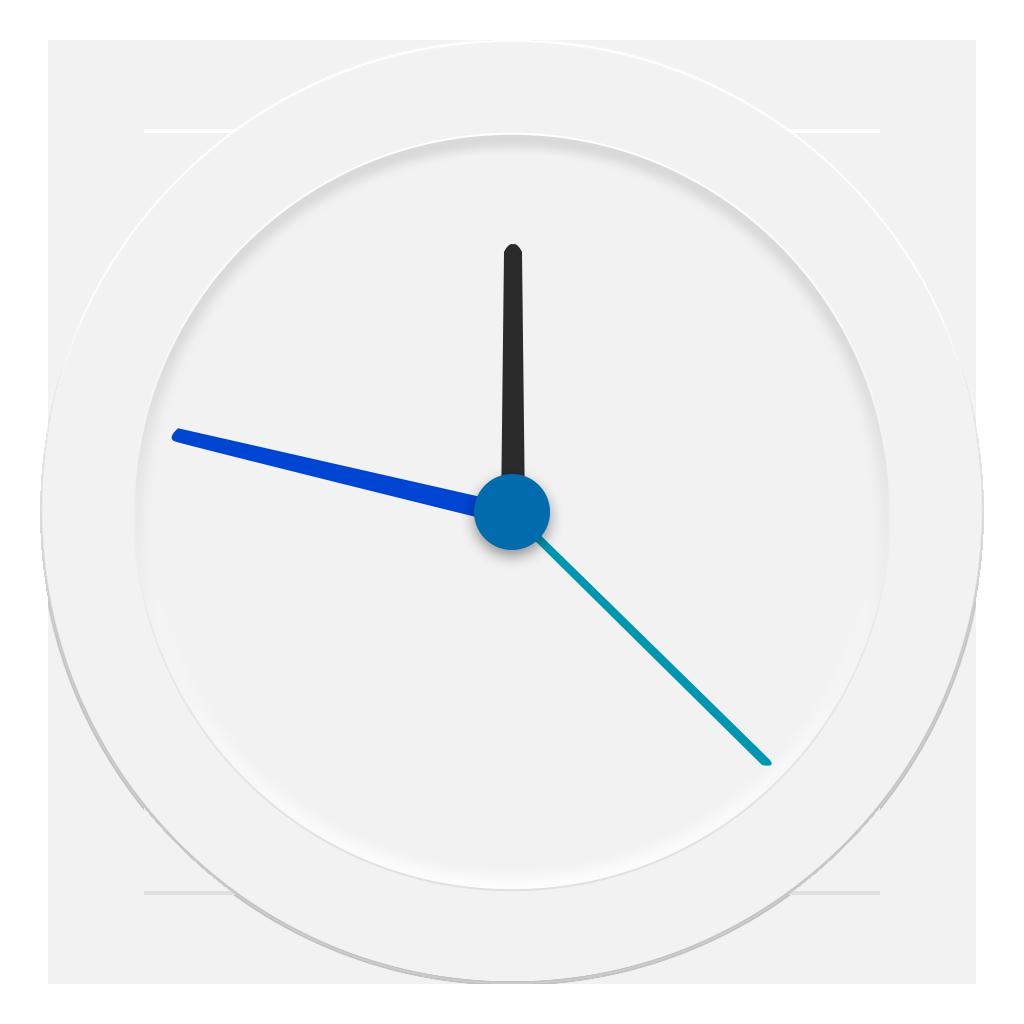 Clock Icon Galaxy S6 PNG Image - PurePNG   Free ...