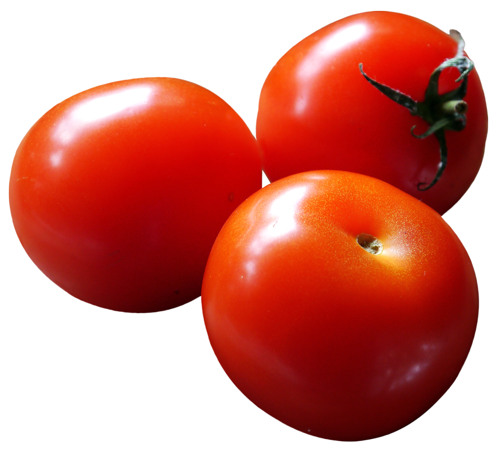 Close-up of Fresh Tomatoes PNG Image