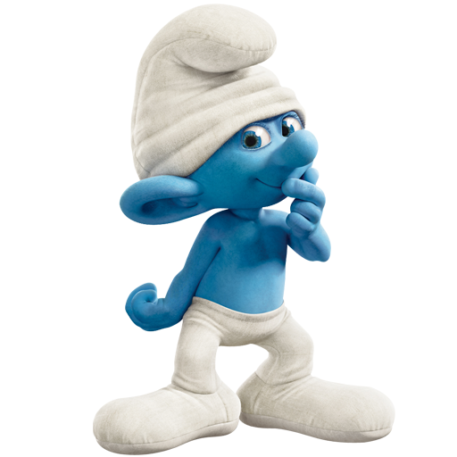 Clumsy Smurf PNG Image