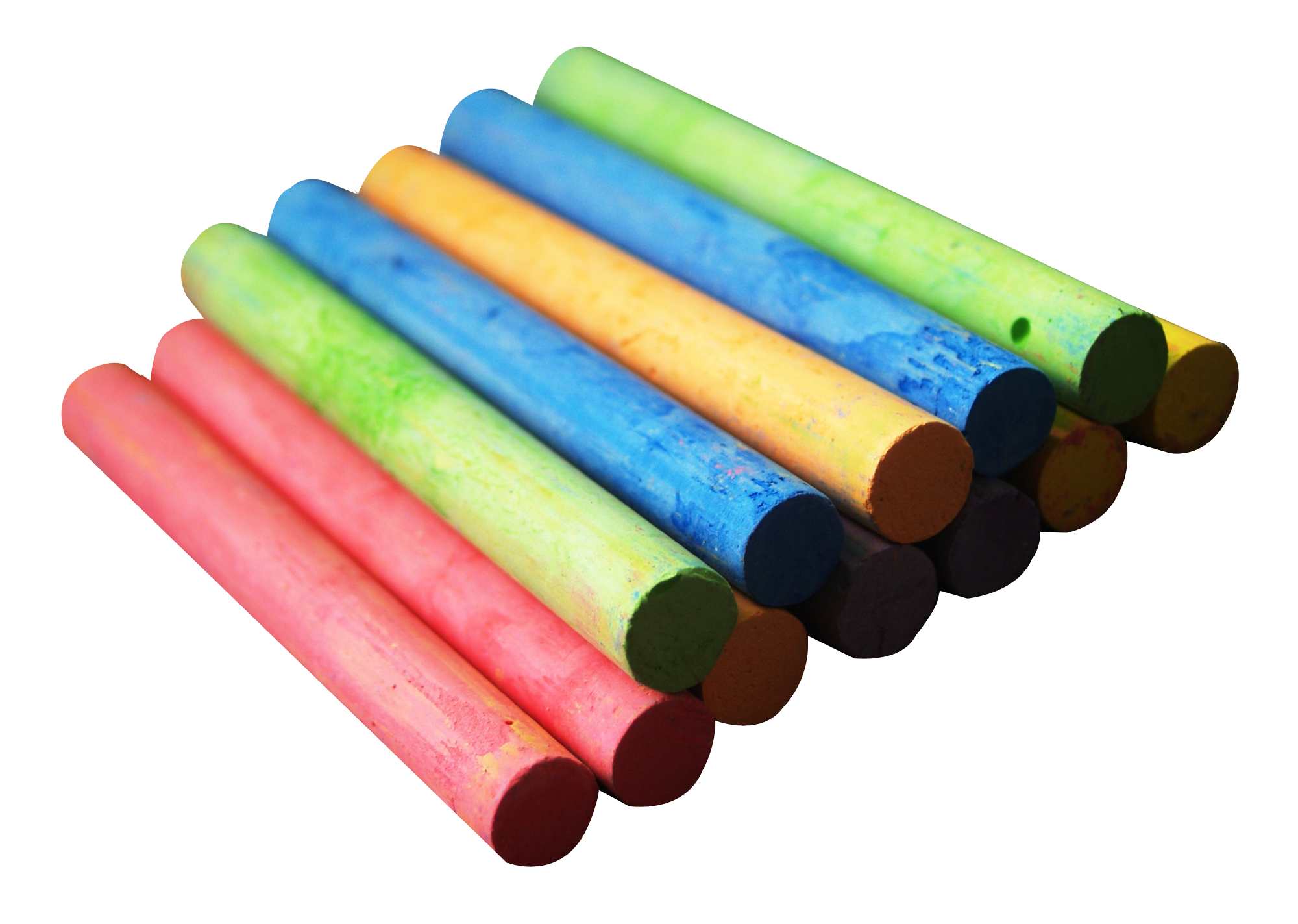 Color Chalk Piece