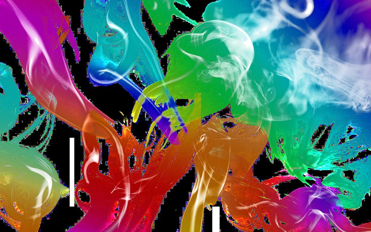 Color Smoke PNG Image