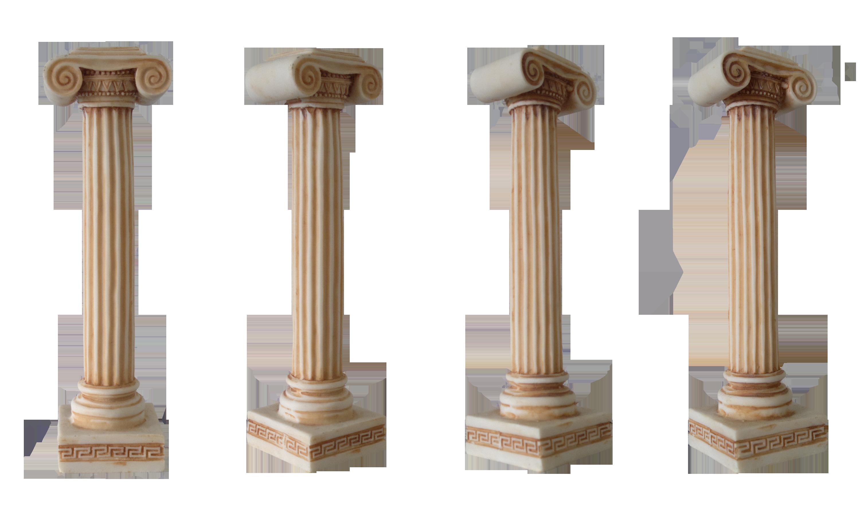 Надписью, картинки колонны на прозрачном фоне
