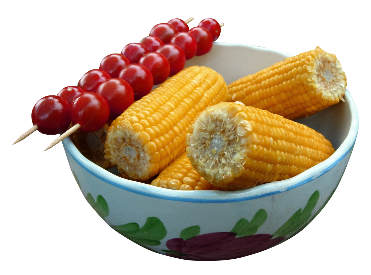 Corn Tomato PNG Image