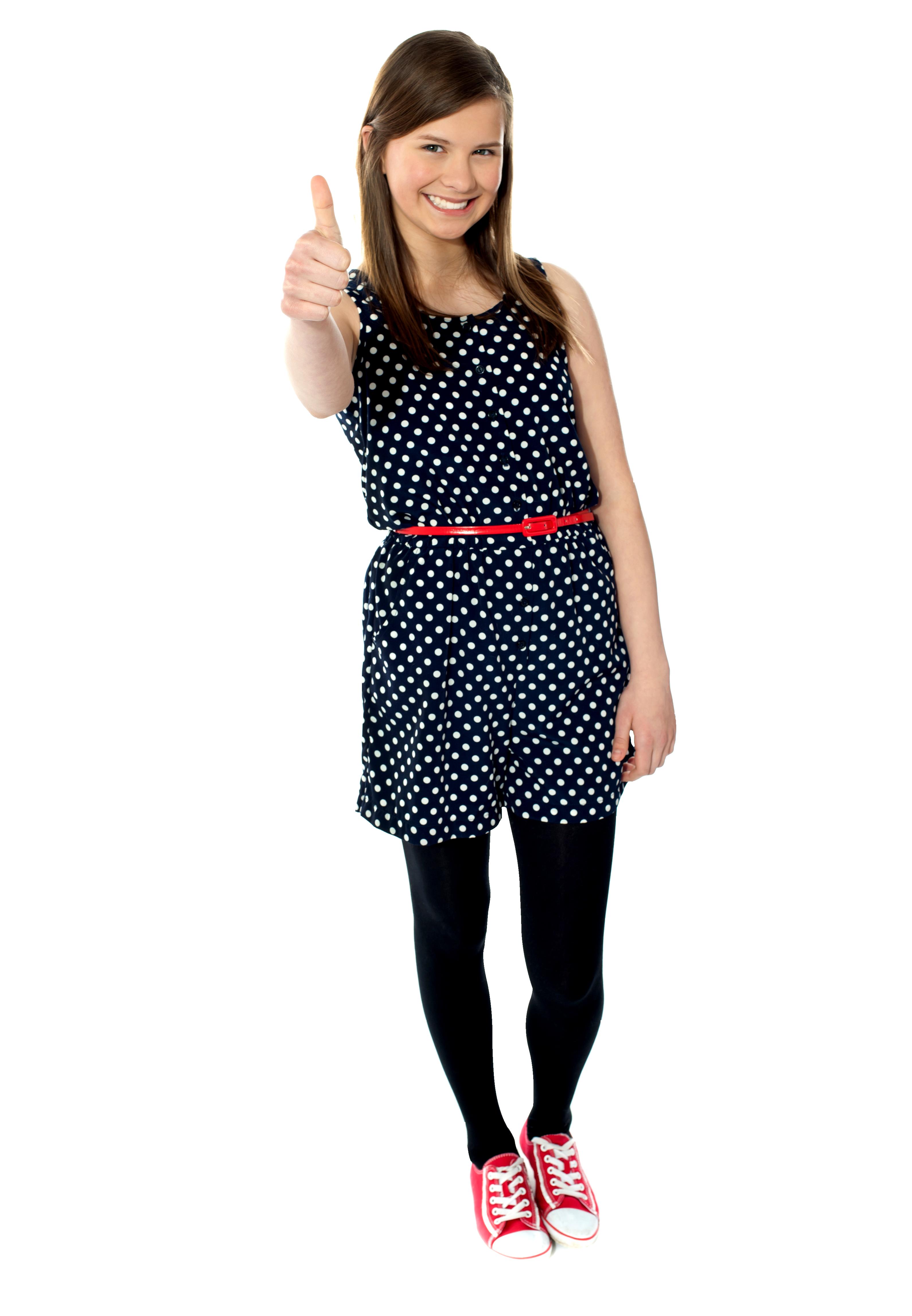 Cute Girl PNG Image
