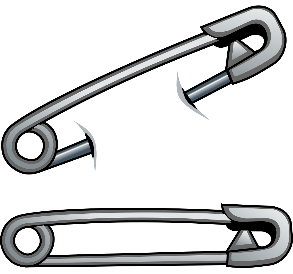 Cyber  Safety Pin PNG Image