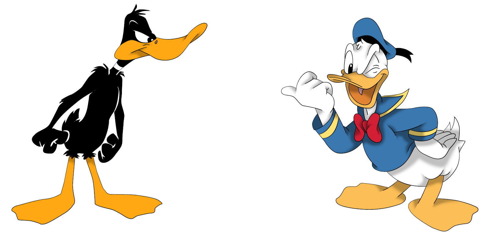 Daffy Duck Woth Donald